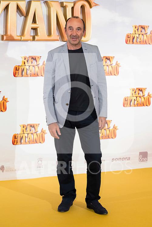 "Actor Manuel Manquiña pose during ""Rey Gitano"" film presentation at Palafox Cinemas in Madrid, Spain. July 09, 2015.<br />  (ALTERPHOTOS/BorjaB.Hojas)"