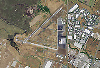 aerial photograph Napa County Airport (APC), Napa, California