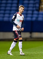 Bolton Wanderers' Jak Hickman looks on <br /> <br /> Photographer Andrew Kearns/CameraSport<br /> <br /> EFL Papa John's Trophy - Northern Section - Group C - Bolton Wanderers v Newcastle United U21 - Tuesday 17th November 2020 - University of Bolton Stadium - Bolton<br />  <br /> World Copyright © 2020 CameraSport. All rights reserved. 43 Linden Ave. Countesthorpe. Leicester. England. LE8 5PG - Tel: +44 (0) 116 277 4147 - admin@camerasport.com - www.camerasport.com