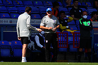 13th September 2020; Portman Road, Ipswich, Suffolk, England, English League One Footballl, Ipswich Town versus Wigan Athletic; Ipswich Town Manager Paul Lambert watches from the side lines