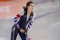 28th December 2020; Thialf Ice Stadium, Heerenveen, Netherlands; World Championship Speed Skating;  500m ladies, Dione Voskamp during the WKKT