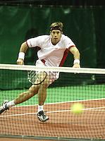 18-2-06, Netherlands, tennis, Rotterdam, ABNAMROWTT, Qualifying round, George Bastl