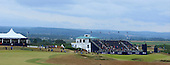 General view of the 18th during round three of the 2016 Aberdeen Asset Management Scottish Open played at Castle Stuart Golf Golf Links from 7th to 10th July 2016: Picture Stuart Adams, www.golftourimages.com: 09/07/2016
