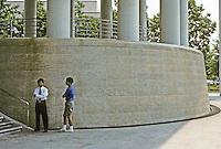 Washington D. C. : Canadian Embassy, 1988. Architect Arthur Erickson. Photo '91.