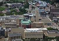 aerial photograph of the Cleveland Clinic hospital, Cleveland, Ohio