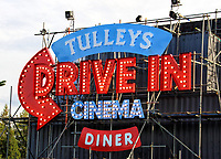 Tulleys Haunted Drive-In Cinema VIP night at Tulleys Farm Event Centre, Turners Hill, Crawley, Sussex, UK on October 8th 2020 <br /> <br /> Photo by Keith Mayhew