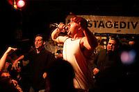 Sammy the Mick (left). Doomsday Device at gilman st.&#xA;4.16.2005<br />