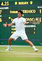29-6-09, England, London, Wimbledon, Fernando Verdasco