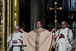 Monsignor Pedro Salamanca presides mass in New York