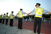 Police during the FIFA World Cup 2002.