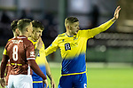 Kelty Hearts v St Johnstone…07.10.20   New Central Park  Betfred Cup<br />Liam Gordon waiting for a free kick to be delivered<br />Picture by Graeme Hart.<br />Copyright Perthshire Picture Agency<br />Tel: 01738 623350  Mobile: 07990 594431