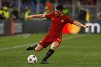 Roma's Alessandro Florenzi in action during the Uefa Champions League round of 16 second leg soccer match between Roma and Shakhtar Donetsk at Rome's Olympic stadium, March 13, 2018. Roma won. 1-0 to join the quarter finals.<br /> UPDATE IMAGES PRESS/Riccardo De Luca