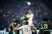 Los Angeles Galaxy vs Portland Timbers, February 25, 2017