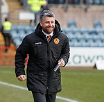 Happy Motherwell manager Stephen Robinson