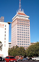 """Fresno CA.: Security Bank Building,  1923.  R.F. Felchin, Architect. (At 14 stories, still """"tallest"""" building in Fresno.)"""