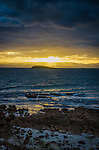 Another magnificent sunset in Coles Bay on the east coast of Tasmania, Australia