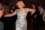 Older couple dancing wealthy rich people private party Hampshire UK 2008,