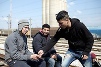 2017 04 05 Refugees living at a railway depot in Thessaloniki, Greece