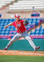 29 February 2016: Washington Nationals pitcher Jonathan Papelbon on the mound during an inter-squad pre-season Spring Training game at Space Coast Stadium in Viera, Florida. Mandatory Credit: Ed Wolfstein Photo *** RAW (NEF) Image File Available ***