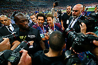 Joie MARQUINHOS (PSG) et Neymar Jr (PSG) <br /> Parigi 08-05-2018 Stade de France <br /> Calcio Finale Coppa di Francia <br /> Les Herbiers - Paris Saint Germain <br /> Foto Panoramic/insidefoto