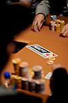 NAPT branding on the Venetian poker tables.