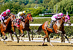 September 18, 2021: Locally Owned #6, ridden by jockey Dylan Davis wins the Grand Prix American Jockey Club Invitational Stakes at Belmont Park in Elmont, N.Y. on September 18th, 2021. Dan Heary/Eclipse Sportswire/CSM