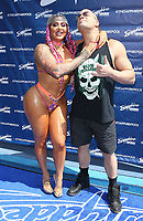20 August 2021 - Las Vegas, NV - Katie Forbes, Rob Van Dam.  Rob Van Dam and Katie Forbes Host Summer Swim Wrestling Weekend Pool Party at  Sapphire Topless Pool and Day Club. Photo Credit: MJT/AdMedia