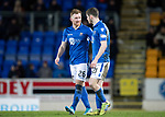 St Johnstone v Motherwell…..12.02.20   McDiarmid Park   SPFL<br />Liam Craig goes off injured<br />Picture by Graeme Hart.<br />Copyright Perthshire Picture Agency<br />Tel: 01738 623350  Mobile: 07990 594431