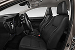 Front seat view of 2017 Toyota Corolla Lounge 4 Door Sedan Front Seat  car photos