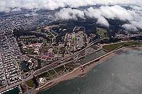 aerial photograph Presidio San Francisco California
