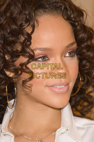 RIHANNA.Launches new perfume at Selfridges Trafford Centre, Manchester, UK..November 28th, 2006.headshot portrait eyeliner.CAP/AT.©Alan Towse/Capital Pictures