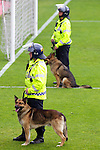 Pix: Shaun Flannery/shaunflanneryphotography.com...COPYRIGHT PICTURE>>SHAUN FLANNERY>01302-570814>>07778315553>>..7th May 2011.............. South Yorkshire Police dog handlers on public order duty.