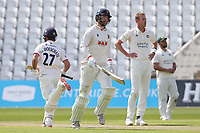 Paul Walter adds to the Essex total during Nottinghamshire CCC vs Essex CCC, LV Insurance County Championship Group 1 Cricket at Trent Bridge on 9th May 2021