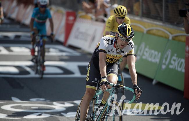 Paul Martens (DEU/LottoNL-Jumbo) finishes 5th in Muret<br /> <br /> <br /> stage 13: Muret - Rodez<br /> 2015 Tour de France