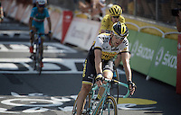 Paul Martens (DEU/LottoNL-Jumbo) finishes 5th in Muret<br /> <br /> <br /> stage 13: Muret - Rodez<br /> 2015 Tour de France