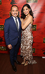 """Jon Jon Briones and Eva Noblezada attends The Opening Night After Party for the New Broadway Production of """"Miss Saigon"""" at Tavern on the Green on March 23, 2017 in New York City"""