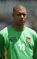 Mickael Antoine-Curier. Guadeloupe defeated Panama 2-1 during the First Round of the 2009 CONCACAF Gold Cup at Oakland Coliseum in Oakland, California on July 4, 2009.
