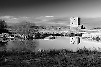 Threave Castle and the River Dee, near Castle Douglas, Dumfries & Galloway