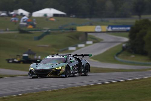 #66: Gradient Racing Acura NSX GT3, GTD: Till Bechtolsheimer, Mario Farnbacher