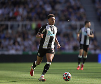 28th August 2021; St James Park, Newcastle upon Tyne, England; EPL Premier League football, Newcastle United versus Southampton; Jacob Murphy of Newcastle United on the ball
