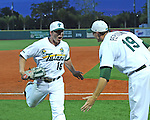 Tulane vs LSU baseball at Turchin Stadium. After a brief rain delay, the Green Wave went on to defeat the Tigers 9-1.
