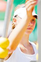 Netherlands, Rotterdam August 05, 2015, Tennis,  National Junior Championships, NJK, TV Victoria, Roos van Reek<br /> Photo: Tennisimages/Henk Koster