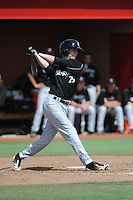 University of Cincinnati Bearcats outfielder Will Drake (25) during a game against the Rutgers University Scarlet Knights at Bainton Field on April 19, 2014 in Piscataway, New Jersey. Rutgers defeated Cincinnati 4-1.  (Tomasso DeRosa/ Four Seam Images)