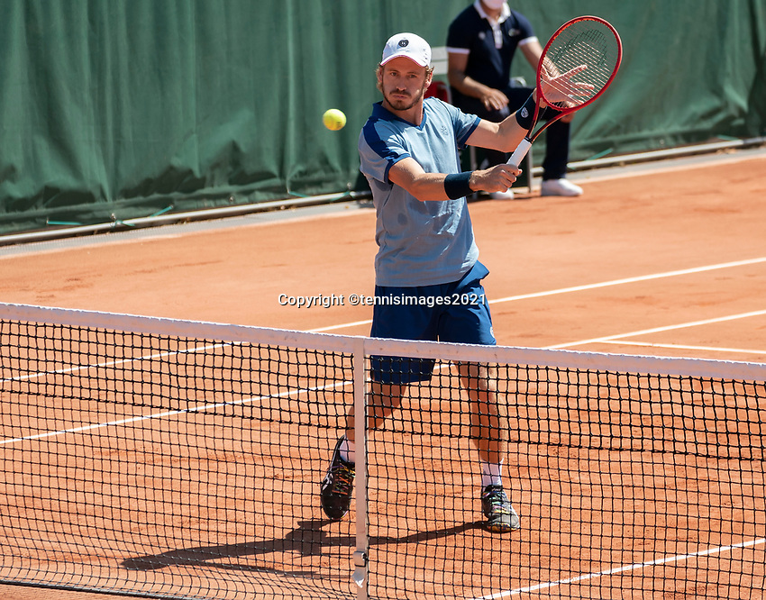 Paris, France, 1 june 2021, Tennis, French Open, Roland Garros, First round doubles match:   Wesley Koolhof (NED) <br /> Photo: tennisimages.com