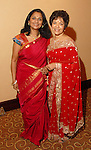 Marie Goradia and Sudha Mani at the Asia Society Gala at the InterContinental Houston Hotel Thursday Feb. 26, 2009.(Dave Rossman/For the Chronicle)
