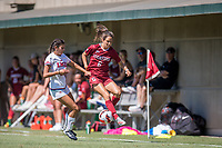 STANFORD, CA - SEPTEMBER 12: Katie Duong during a game between Loyola Marymount University and Stanford University at Cagan Stadium on September 12, 2021 in Stanford, California.