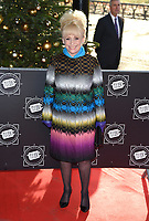 Barbara Windsor<br /> arriving for the TRIC Christmas Party, Grosvenor House Hotel, London.<br /> <br /> <br /> ©Ash Knotek  D3362  12/12/2017