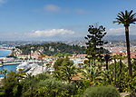 Frankreich, Provence-Alpes-Côte d'Azur, Nizza: Kreuzfahrtschiff im Hafen Port de Nice (Bassin du Commerce) | France, Provence-Alpes-Côte d'Azur, Nice: cruise ship at Port de Nice (Bassin du Commerce)