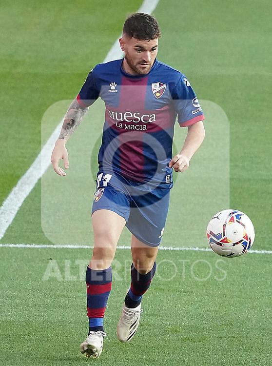 SD Huesca's Javi Galan during La Liga match. September 30,2020. (ALTERPHOTOS/Acero)