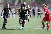 Eriko ArakawaEriko Arakwa (30) and Becky Sauerbrunn (22). Washington Freedom defeated FC Gold Pride 4-3 at Buck Shaw Stadium in Santa Clara, California on April 26, 2009.